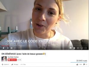 "Margot, youtubeuse ""YouMakeFashion"""